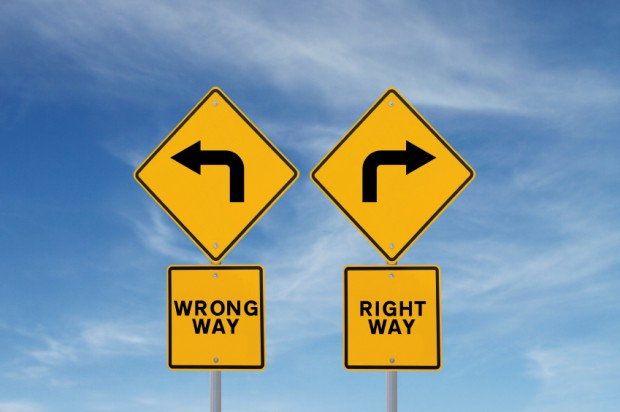 Right Way - Wrong Way - Featured