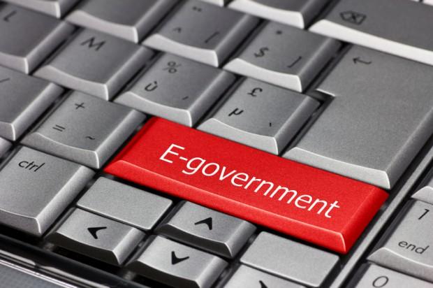 Computer key - E-government