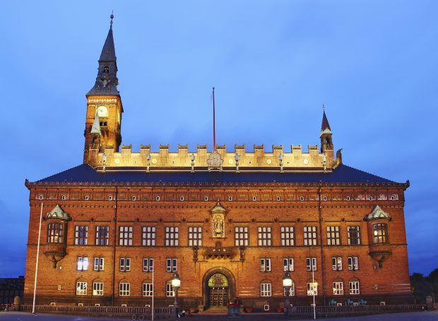 City Hall, Copenhagen, Denmark