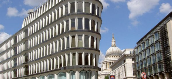 30 Cannon Street, London. Home of the IASB.